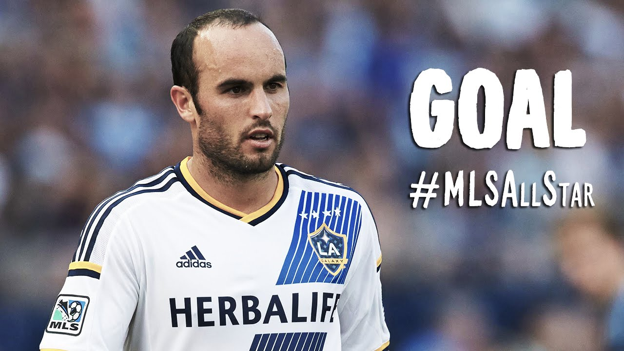 buy online ad307 27f7d GOAL: Landon Donovan muscles a shot past Neuer | MLS All-Stars vs FC Bayern  München