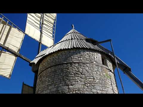 Working Old Windmill orienting