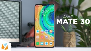 Huawei Mate 30 Unboxing and Hands-on