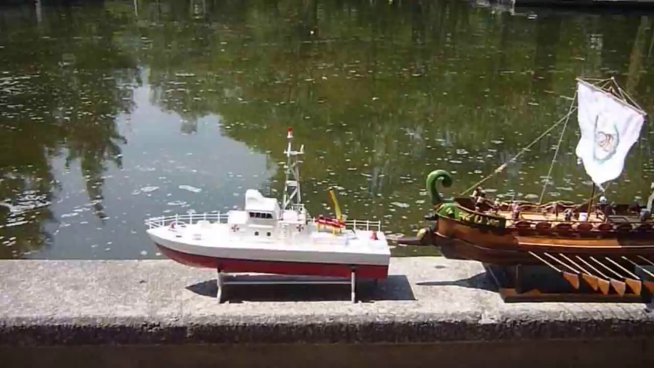 Barco guardacosta hanner youtube for Como cocinar alubias de bote