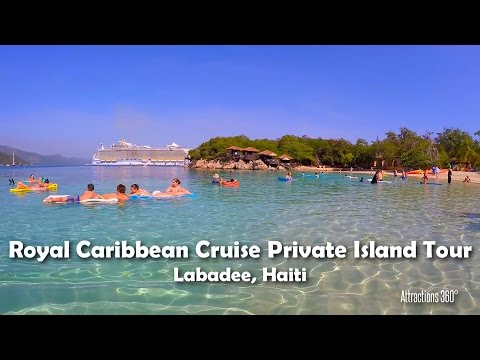 [HD] Beautiful Royal Caribbean Private Island Steady Tour - Labadee, Haiti