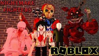 Roblox | Gia Nhập Và Chiến Đấu Cùng Những Kẻ Siêu Ác Nhân | Nightmare Fighters | Vamy Trần