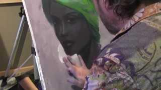 Научиться рисовать портрет, живопись для начинающих, художник Сахаров