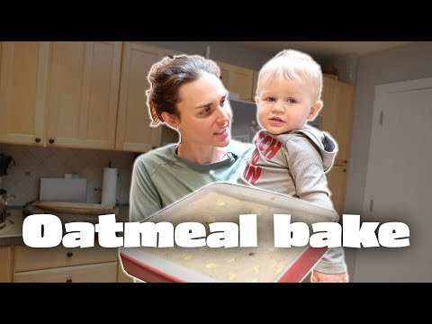 My second favorite breakfast: Oatmeal bake