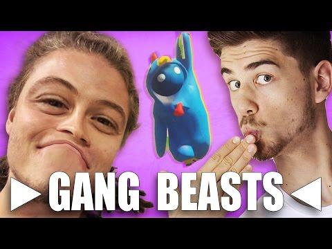 WINNING! GANG BEASTS - GOGO & SELASSIE