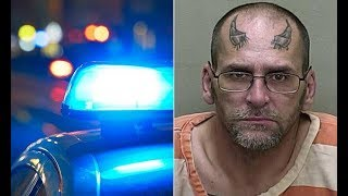 Florida man with devil horns tattoo arrested