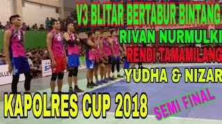 #rivan #rendi #yudha #nizar                   V3 BLITAR VS BANK JATIM KAPOLRES CUP BERTABUR BINTANG