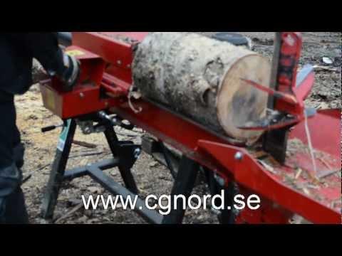 Kända Hydraulisk Vedklyv Ws 90 - CG NORD AB - YouTube XV-01