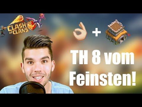 CLASH OF CLANS: TH 8 vom Feinsten! ✭ Let's Play Clash of Clans [Deutsch/German HD]