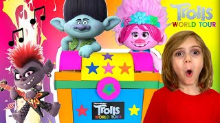 Trolls World Tour || Poppy & Branch VS Barb stole 6 music strings from Magic JukeBox