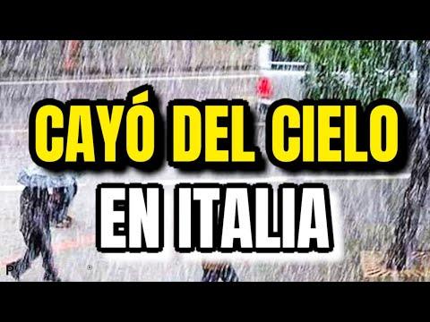 ¡Algo Impactante Pasó En Italia! Nadie Lo Esperaba Esto Cayó En Italia Justo Ahora