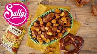 Snyders Pretzel / Brezel Snacks / Honey Mustard Onion/  nachgemacht: Original trifft Sally