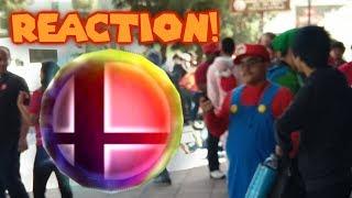 Super Smash Bros Ultimate Invitational Line REACTION!