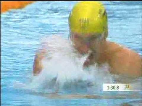 200m Breaststroke HEAT - Melbourne Commonwealth Games 2006