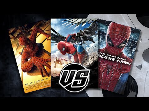 Spider-Man Homecoming VS Spider-Man VS The Amazing Spider-Man
