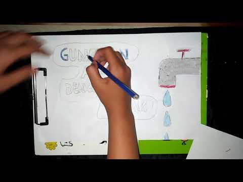 Poster Hemat Air Youtube