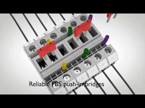 Test and measurement with RT 5-T sliding link terminal blocks - Phoenix Contact