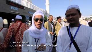 Pakej I Umrah Rakyat Bersama Jemaah dari Indonesia 2013 Bahagian 1