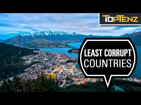The 10 Least Corrupt Nations in the World