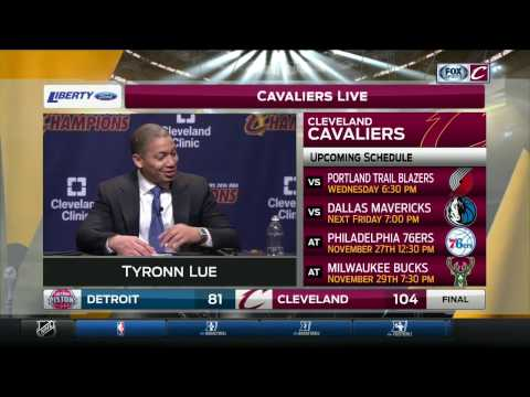 Tyronn Lue discusses on-going evolution of Cavaliers' second unit