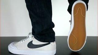 Nike Sb Blazer Low Xt Summit White Black White Youtube