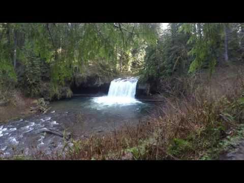 Upper Falls at Butte Creek Falls, 4k