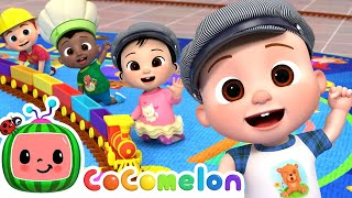 Down By The Station Song | CoComelon Nursery Rhymes & Kids Songs