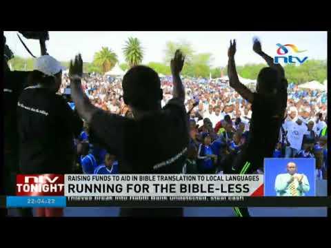 Deputy President William Ruto flags off 'Run for the Bibleless' race