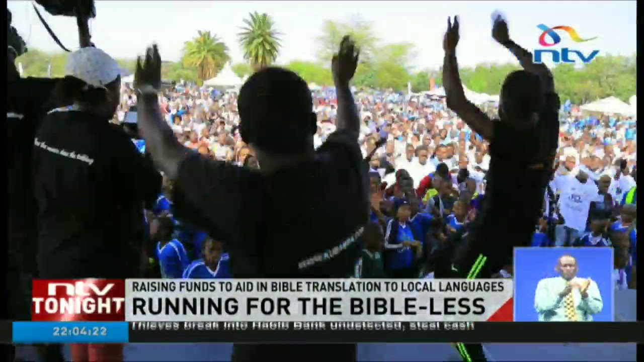 Deputy President William Ruto flags off 'Run for the Bibleless' race