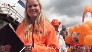 Kijk naar Jezelf Oranje-Optocht Dalfsen Linkerzijde publiek