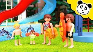 Playmobil Schwimmbad - Die neue Riesen Rutsche! Playmobil Film