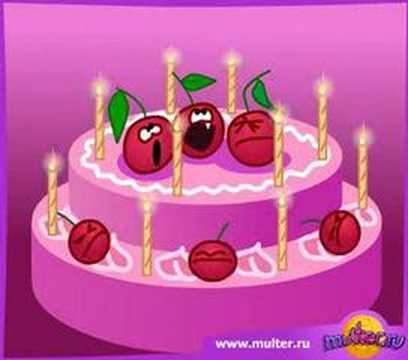Happy Birthday Movie Card Youtube