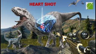 Dino Hunter Wild Jurassic Hunting Expedition - Android Gameplay FHD