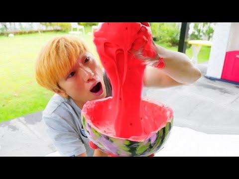 giant watermelon slime kids toys play Nursery Rhymes 齑堦卑雽� 靾橂皶 鞀澕鞛� 鞎£创 鞎§泊甏措 毵岆摛旮� 雴�鞚� | 毵愳澊鞎检檧鞎勳澊霌� MariAndKids