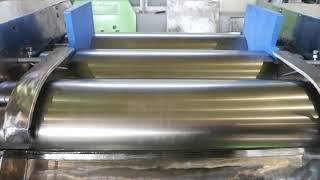 유니텍 화학기계 3 Roll Mill 16인치 유압식