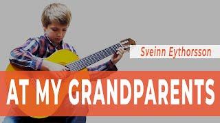 Уроки гитары Киев - «At my grandparents» Sveinn Eythorsson. SERENADA.IN.UA
