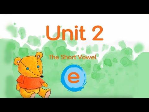 """Phonics Kids 4A Unit 2   Short Vowel """"e""""   ed en ell   eg et ess   end ent est eck"""