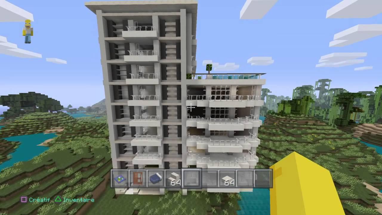 Case Moderne Minecraft : Minecraft case moderne. minecraft case moderne with minecraft case