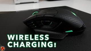Corsair Dark Core SE RGB & MM1000 Qi Mouse Pad - Wireless charging!