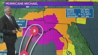 Hurricane Michael Now a Category 3 'Major Hurricane