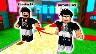 TROLLANDO WITH ADMIN COMMANDS WITH SKINS EXCHANGED ON ROBLOX