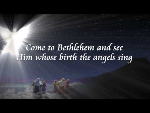 Chris Tomlin:  Angels We Have Heard On High w/lyrics