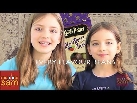 Harry Potter Bean Boozled Challenge! Bertie Bott's Every Flavour Beans 😂 Mugglesam