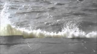 Il Lago Trasimeno mosso