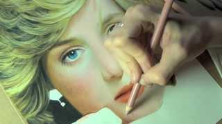 Drawing Princess Diana