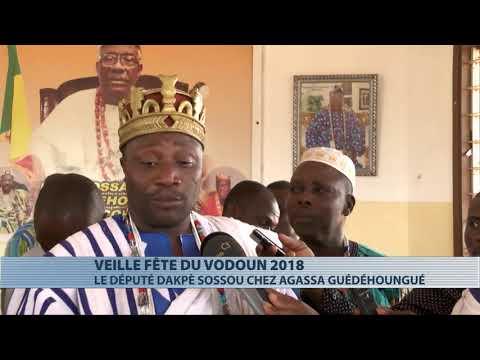 Religion : visite de Dakpè Sossou à Agassa Guédéhoungué