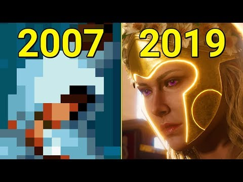 Evolution of Assassin's Creed 2007-2019