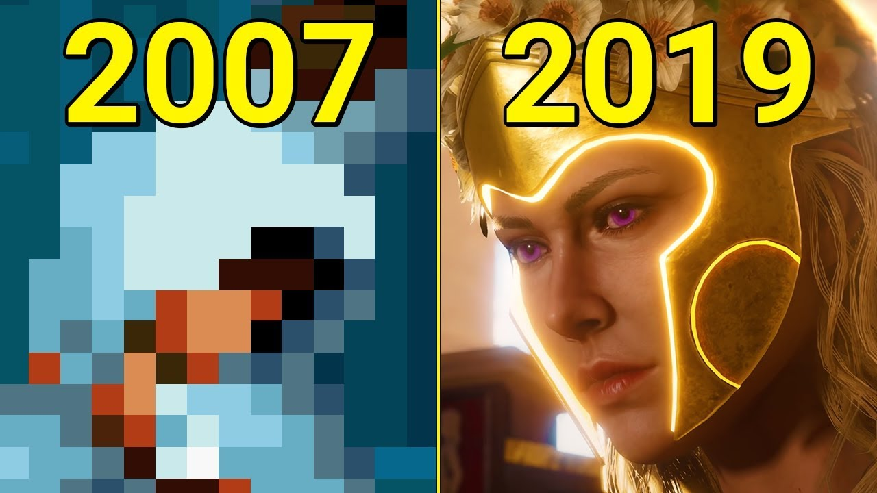 Evolution of Assassin's Creed 2007-2019 thumbnail