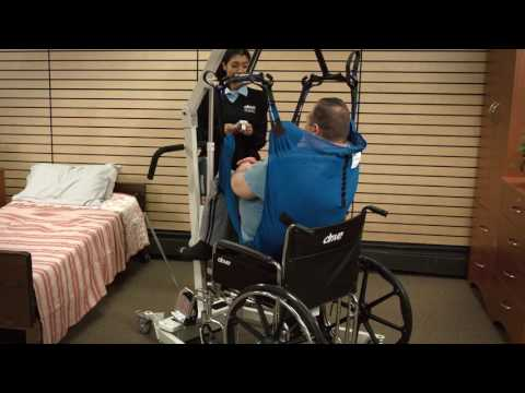 How To Use Drive Bariatric Battery Powered Patient Lift