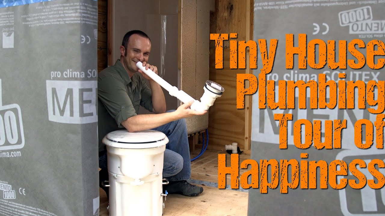 Tiny House Plumbing Intro to the TinyLab system YouTube